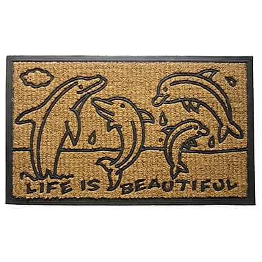 Imports Decor Dolphin Family Doormat