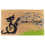 Imports Decor Musical Cats Doormat