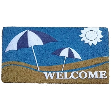Imports Decor Sun and Sand Doormat