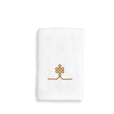 Linum Home Textiles Lattice Wash Cloth