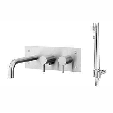 WS Bath Collections Bath / Shower Mixer w/ Hand Shower