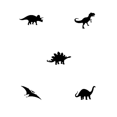 Dana Decals Tiny Dinosaurs Wall Decal
