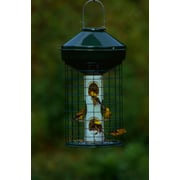 Vari-Crafts Wire Cage Mixed Seed Tube Bird Feeder