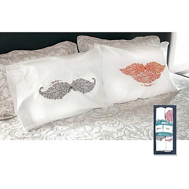 Jozie B 2 Piece Handsome Pillowcase Set