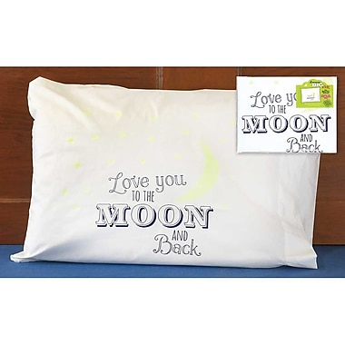 Jozie B I Love You To the Moon and Back Kids Glow in the Dark Pillowcase