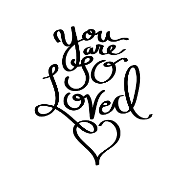 Dana Decals You Are So Loved Quote Medium Wall Decal