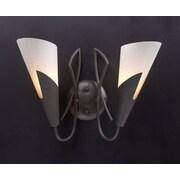 PLC Lighting Gotham  2-Light Wall Sconce