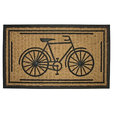Imports Decor Bike Doormat