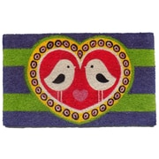 Imports Decor Love Bird Doormat