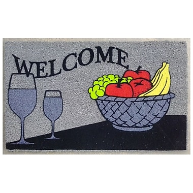 Imports Decor Welcome Wine Doormat