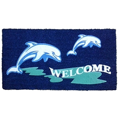 Imports Decor Dolphin Beach Doormat