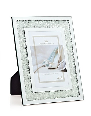 Philip Whitney Crushed Crytal Picture Frame WYF078277890007