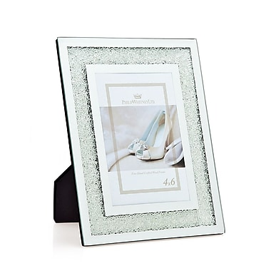 Philip Whitney Crushed Crytal Picture Frame