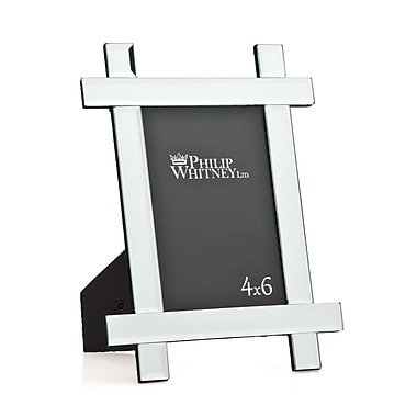 Philip Whitney Criss Cross Mirror Picture Frame