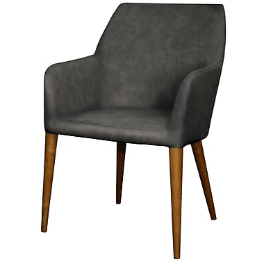 New Pacific Direct Regan Arm Chair; Antique Gray