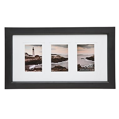 Philip Whitney 3 Opening Double Matte Wood Picture Frame