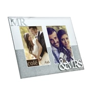Philip Whitney Mr.& Mrs. Double Mirror Picture Frame