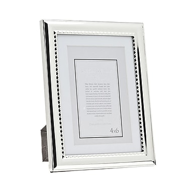 Philip Whitney Bead Picture Frame; 4'' x 6''