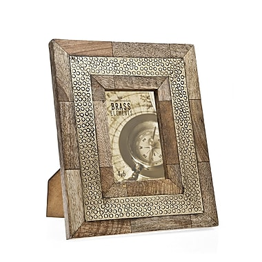 Philip Whitney Wood Trim Picture Frame
