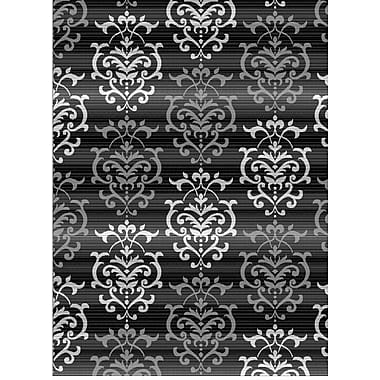 United Weavers of America Dallas Countess Gray Area Rug; 5'3'' x 7'2''