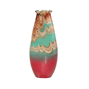 Dale Tiffany Seaboard Art Glass Vase