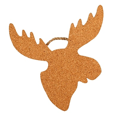 Thirstystone Moose Shaped Cork and Rope Trivet