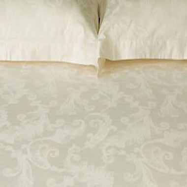 North Home Roma Duvet Cover Set in Ivory; Queen