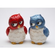 CosmosGifts Couple Owls Salt and Pepper Set