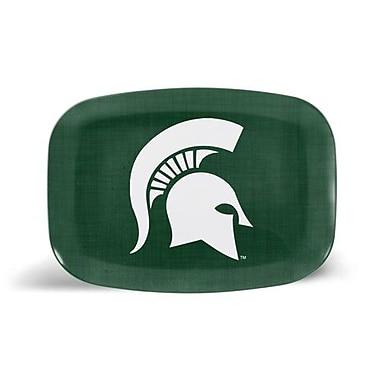 Milo Gift Shop Melamine Platter; Michigan State