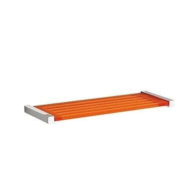 WS Bath Collections Quadra Simple Wall Shelf