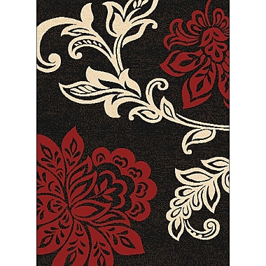 United Weavers of America Dallas Dallas Trouseau Red Area Rug; 5'3'' x 7'2''