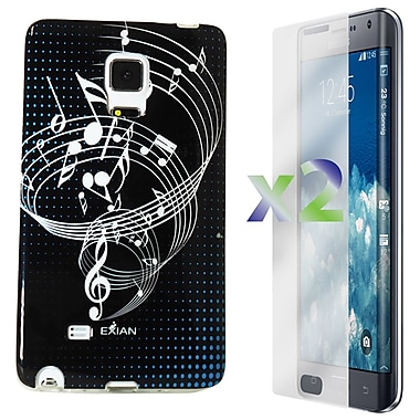Exian Case for Note Edge Musical Notes, Black