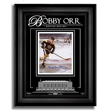 Boston Bruins Signed 8X10 Photo Archival Etched Glass™ Ltd/99