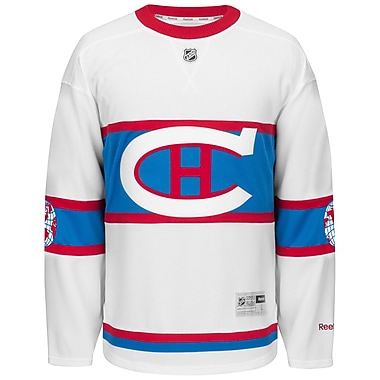 Montreal Canadiens 2016 Reebok Winter Classic Premier Replica Jersey, Medium