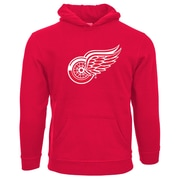NHL Detroit Red Wings Suede Crest Youth Hoodie