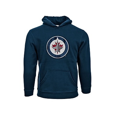 NHL Winnipeg Jets Suede Crest Youth Hoodie, Small