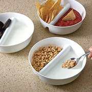 Just Solutions Just Crunch 15 oz. Anti Soggy Cereal Bowl; White