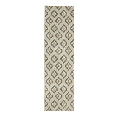 Karastan Pacifica Briarcliff Beige Area Rug; Rectangle 2'1'' x 7'10''