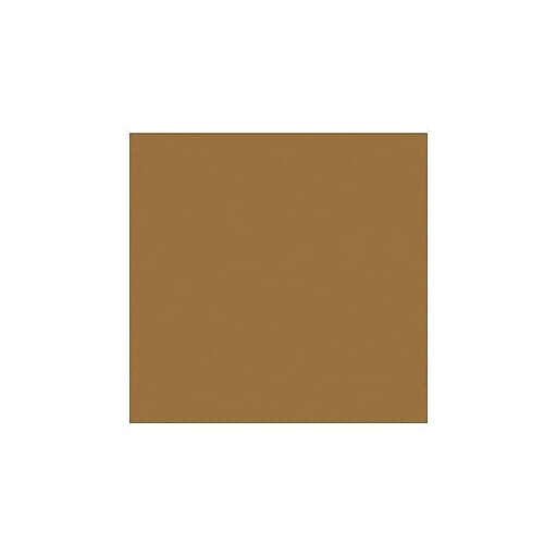 """LUX® 12"""" x 12"""" Paper, Tobacco Brown, 500/Pack (1212-P-88-500)"""