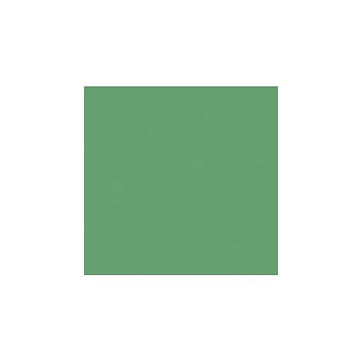"""LUX® 12"""" x 12"""" Cardstock, Holiday Green, 500/PK (1212-C-L17-500)"""