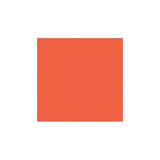 LUX 12 x 12 Cardstock 500/Box, Tangerine (1212-C-112-500)