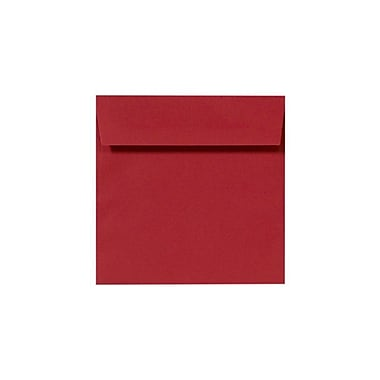 LUX 8 x 8 Square Envelopes 50/box, Ruby Red (LUX-8565-18-50)