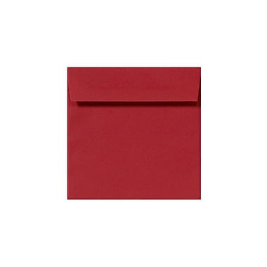 LUX 8 1/2 x 8 1/2 Square Envelopes 500/box, Ruby Red (LUX-8575-18-500)