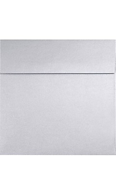LUX 7 x 7 Square Envelopes 500/box, Silver Metallic (8545-06-500)