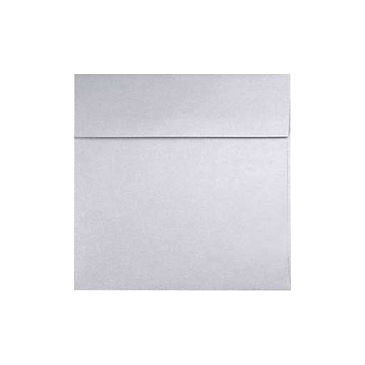 LUX 6 1/4 x 6 1/4 Square 250/Box) 250/Box, Silver Metallic (8530-06-250)