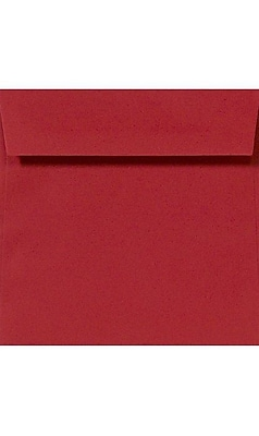 LUX 6 1/4 x 6 1/4 Square 1000/Box) 1000/Box, Ruby Red (LUX-8530-18-1M) 1985298