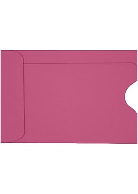 LUX Credit Card Sleeve (2 3/8 x 3 1/2) 1000/Box, Magenta (LUX-1801-10-1M)