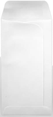LUX® Large Drive-In Banking Envelopes, 3-3/4