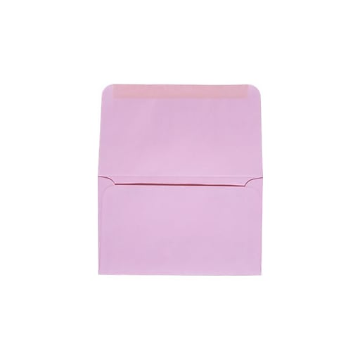 "LUX® 6-3/4 Remittance, Donation Envelopes, 3-5/8"" x 6-1/2"" Closed, Pastel Pink, 500ct (R0265-500)"