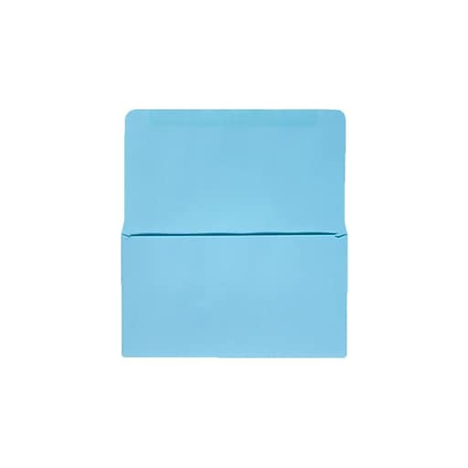 "LUX® #6-3/4 Remittance, Donation Envelopes, 3-5/8"" x 6-1/2"" Closed, Pastel Blue, 500ct (R0267-500)"
